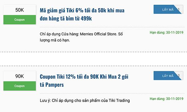 Hướng dẫn lấy mã giảm giá Tiki tại MaGiamGiaMoi